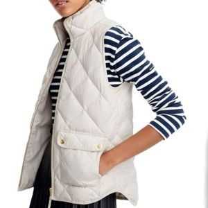 J. Crew {retail} Cream Excursion Vest